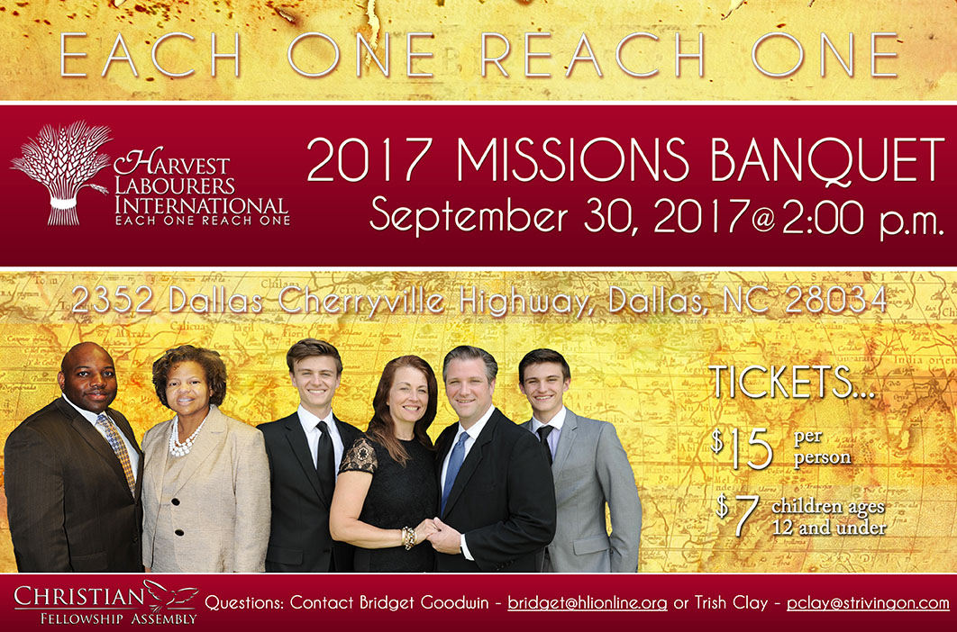 Missions Banquet 2017